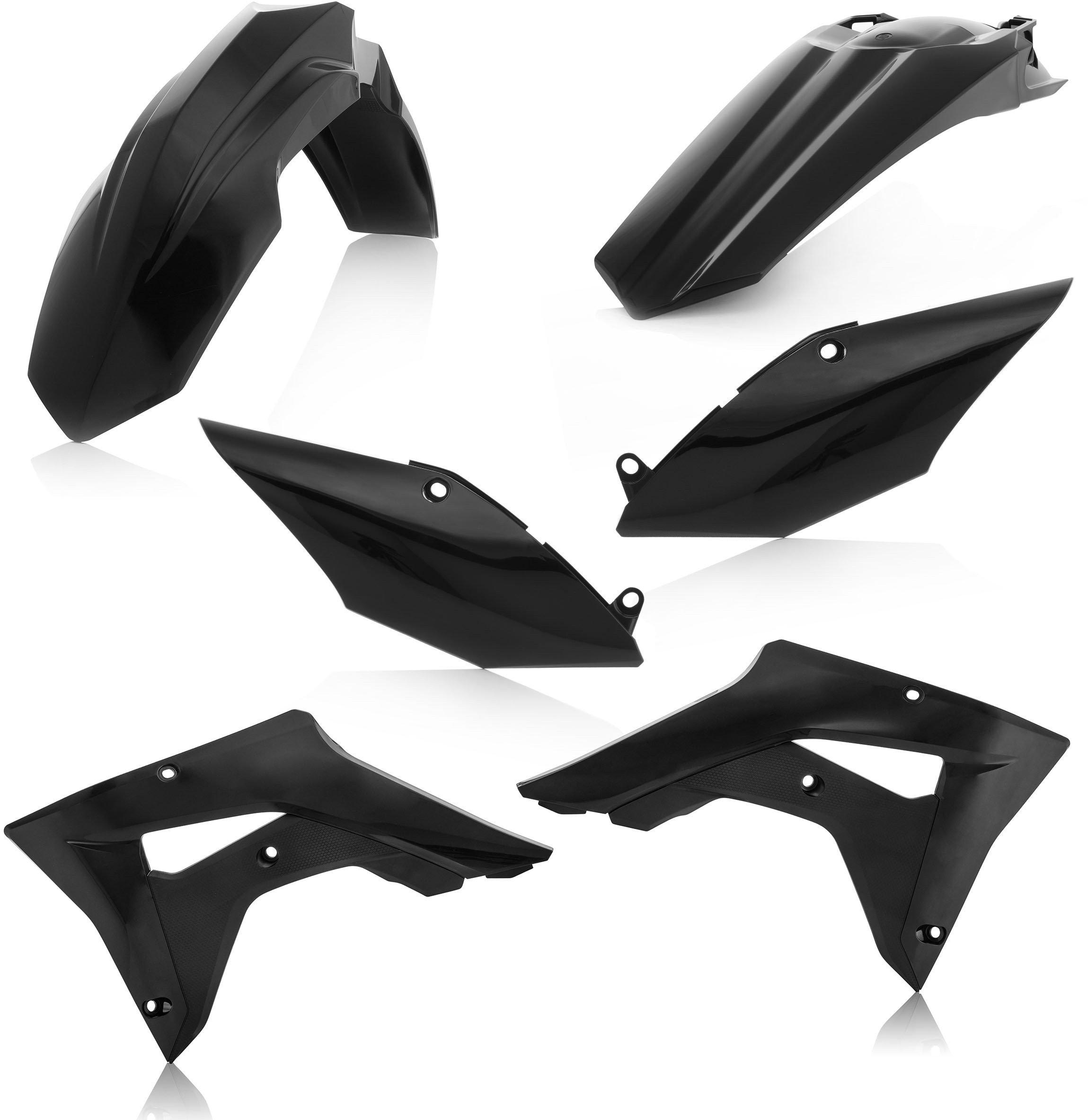 Acerbis 2645460001 Plastic Kit - Black