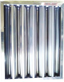 Filtro campana extractora industrial 490 x 490 x 50 mm: Amazon.es: Hogar