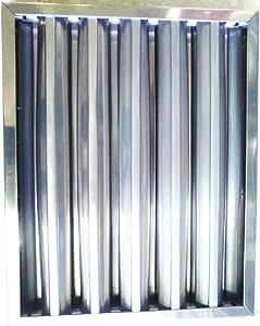 CubetasGastronorm - Filtro De Lamas para Campana Extractoras 49x49-95FI89318: Amazon.es: Hogar