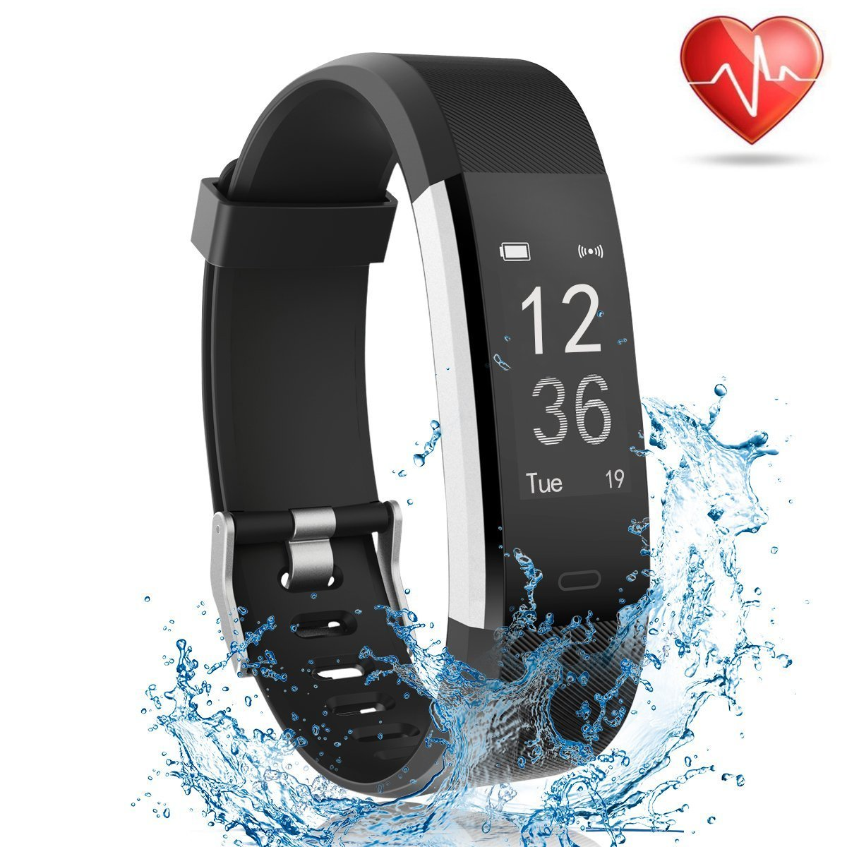 24e35fa6b06db Buy Fitness Tracker with Heart Rate Monitor