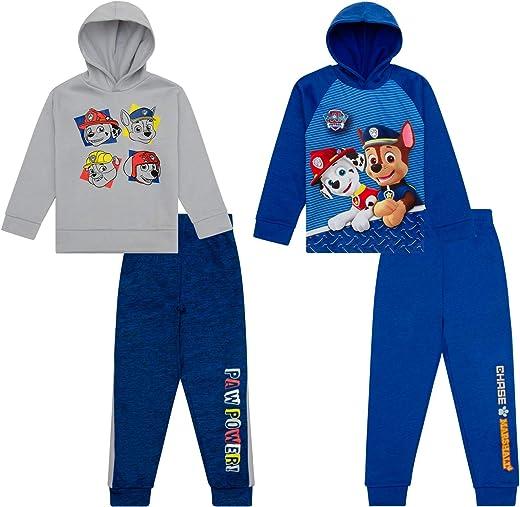 مجموعة سترات رياضية وبلوزات من باو باترول، مجموعة مكونة من 4 قطع، ملابس للأطفال