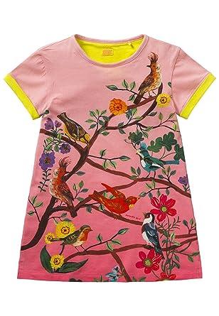 Robe Fille Tatou Imprime L Ile Aux Oiseaux Design Natalie Lete