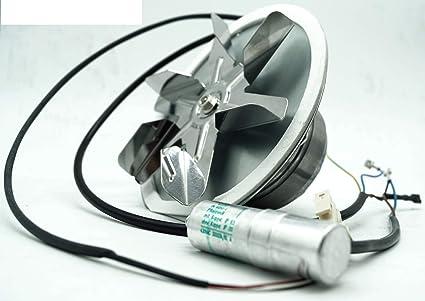 Ventilador de escape EBM R2E de 180 cg82 EBM Pellet Horno humo Gas motor Pellet soefen: Amazon.es: Hogar