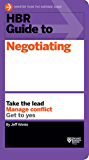 HBR Guide to Negotiating (HBR Guide Series) (English Edition)
