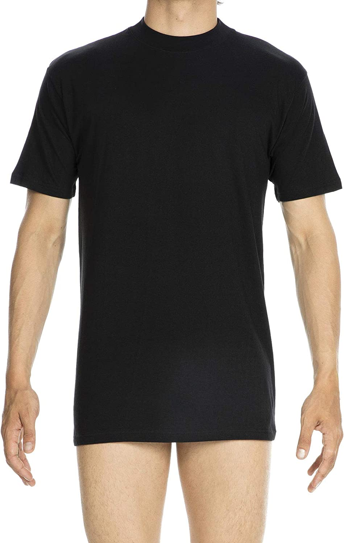 Hom Uomo T-Shirt Scollo Rotondo Harro New Maglietta di Alta qualit/à