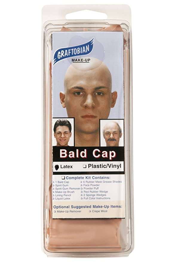 Amazon.com: Graftobian Make-Up Company Latex Bald Cap: Clothing
