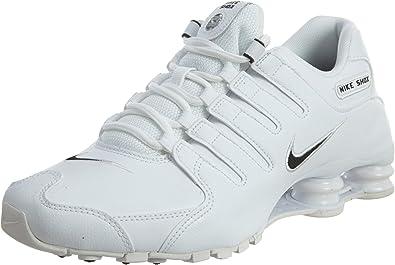 Exquisito Escarpa Mago  Nike Men's Shox NZ Leather Running Shoes: Nike: Amazon.com.mx: Ropa,  Zapatos y Accesorios