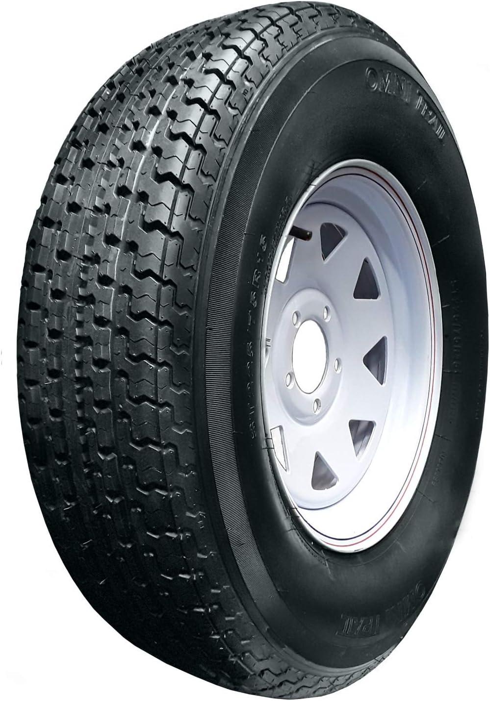 Omni Trail Trailer Radial Tire-ST205//75R14 105L 8-ply