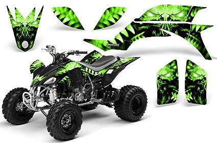 Yamaha 450 Atv >> Amazon Com Creatorx Yamaha Yfz 450 Atv Graphics Kit Decals