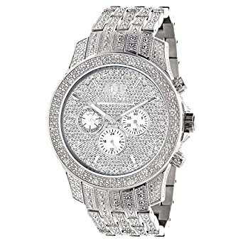 swiss fully out watches watch iced liberty hqdefault diamond mvt luxurman mens