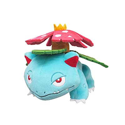 "Sanei PP94 PokemonAll Star Collection Venusaur Plush, 4"": Toys & Games"