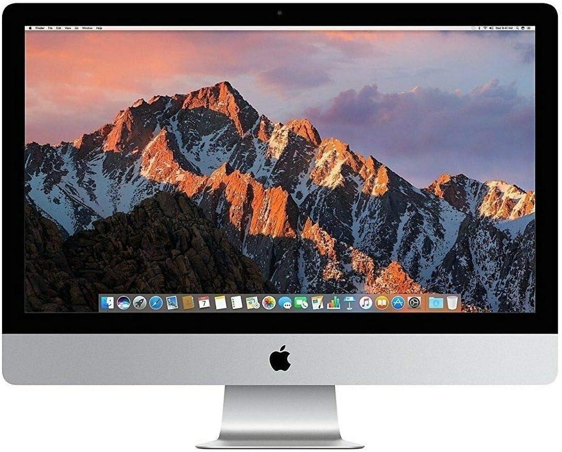 Apple iMac MD063LL/A Intel Core i7-2600 X4 3.4GHz 4GB 1TB DVD+/-RW 27in (Silver) (Renewed)