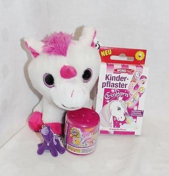 Unbekannt 110001 Geschenk Set Einhorn Pink Mädchen 5 7 Jahre Geschenkverpackung Geschenkpack