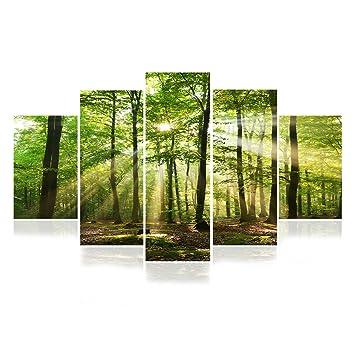 BAYTTER 5-teiliges Bild auf Leinwand Kunstdrucke Wandbilder für ...