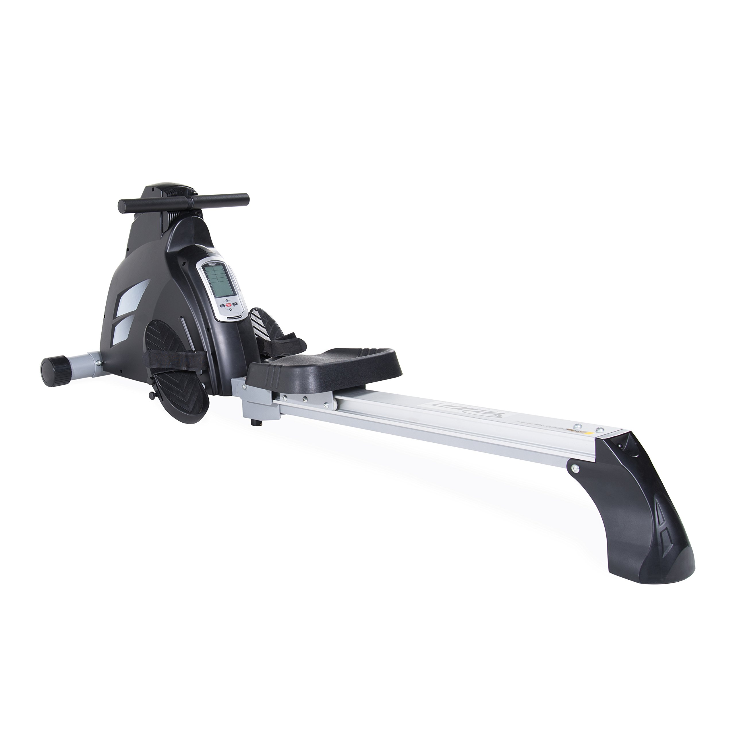 Velocity Exercise Magnetic Rower, Black
