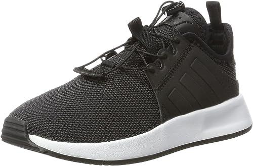 adidas Originals X_PLR C, Baskets Mixte Enfant, Schwarz
