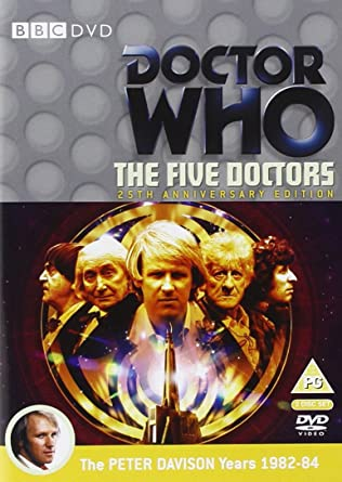 doctor who the five doctors 25th anniversary edition