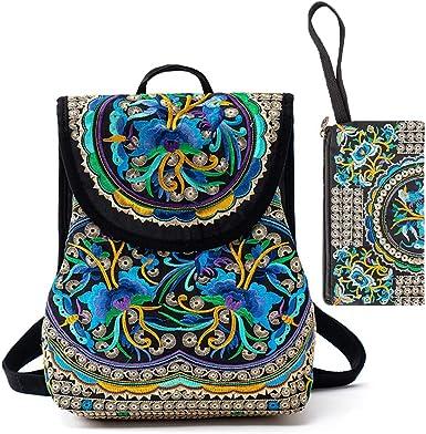 Canvas backpack Womens backpack Boho backpack