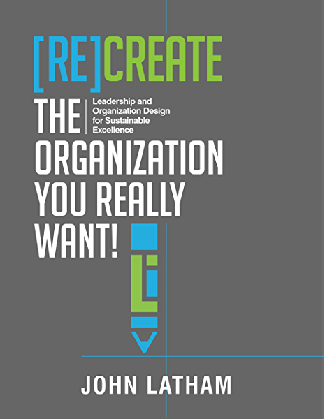 Amazon Com Re Create The Organization You Really Want Leadership And Organization Design For Sustainable Excellence Ebook Latham John R Kindle Store