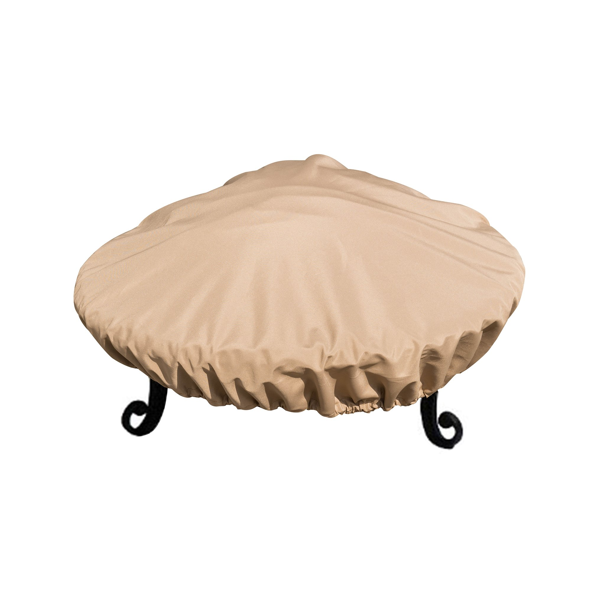 Island Retreat NU570-37 Fire Pit Cover 34, 29-32-inch, Tan by Island Retreat