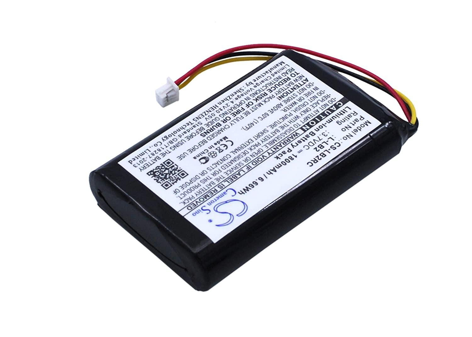 VINTRONS Li-ion BATTERY Pack Fits Logitech L-LB2, MX1000 cordless mouse