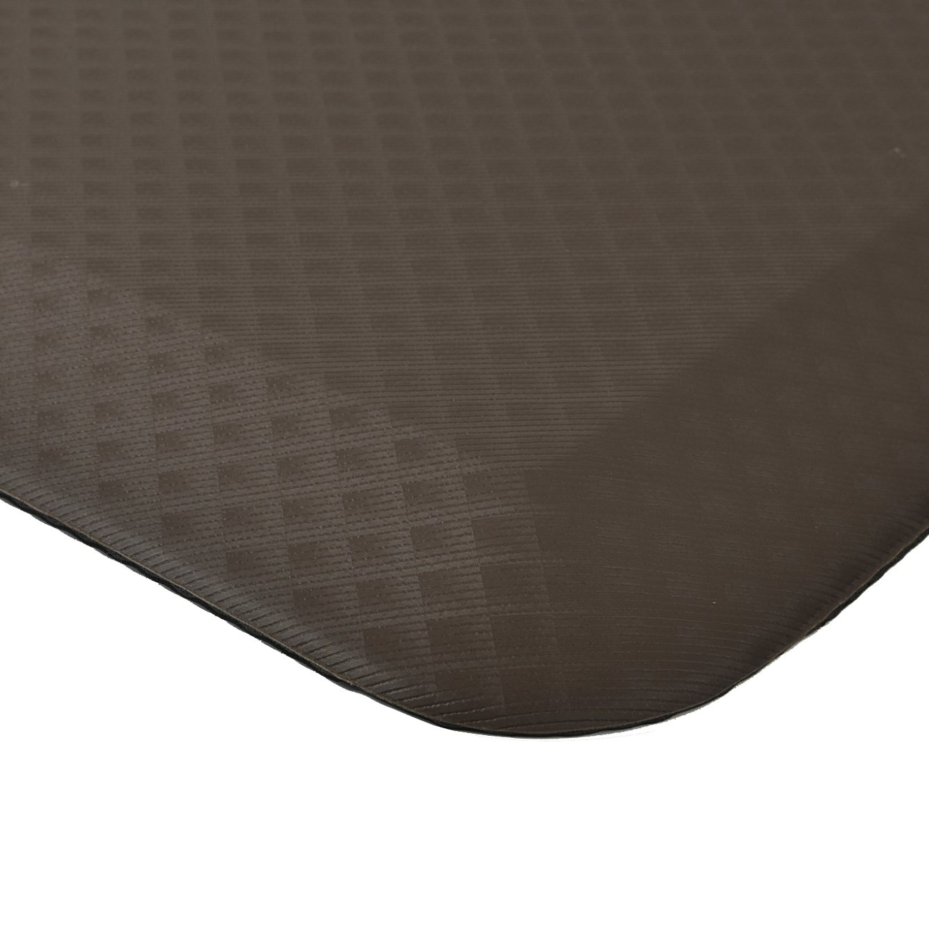 FOOTIGHT Non-Slip Anti-Fatigue 20 x 39 x 3/4' Eco-Friendly Waterproof Standing Comfort Mat, Perfect for for Office, Kitchen, Standing Desk(Black) afm-BK-2039a