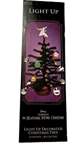 Nightmare Before Christmas The Light Up Decorated Christmas Tree