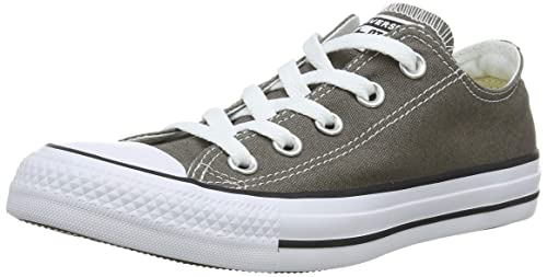 Converse Chuch Taylor All Star Ox - Zapatillas de lona unisex, color gris (Anthracite), talla 35: Amazon.es: Zapatos y complementos