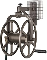 Liberty Garden Single Arm Navigator Multi-Directional Hose Reel