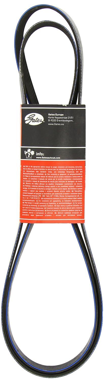 GAT 6PK2075 Cinghia trapezoidale scanalata Micro-V® XF Gates
