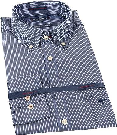 Fynch Hatton - Camisa de manga larga para hombre Azul azul XXL: Amazon.es: Ropa y accesorios