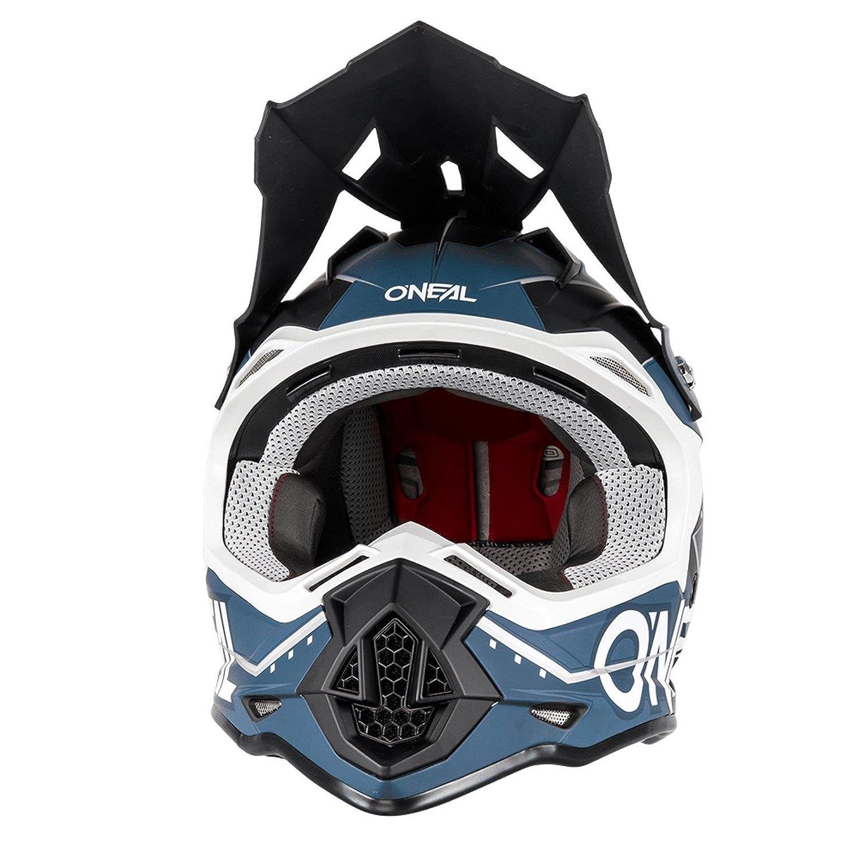 0200-03 ONeal 2Series RL MX Helm Slingshot Schwarz Blau Moto Cross Enduro Quad Offroad DH