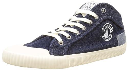 Pepe Jeans London - Zapatillas Hombre, Azul (Dk Denim), 45 (EU
