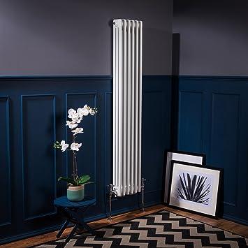 Design Heizkörper viktorianisch traditionell vertikal 1500x290mm ...