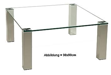 Couchtisch 70x70 glas cool affordable couchtisch glas for Couchtisch 70x70 glas