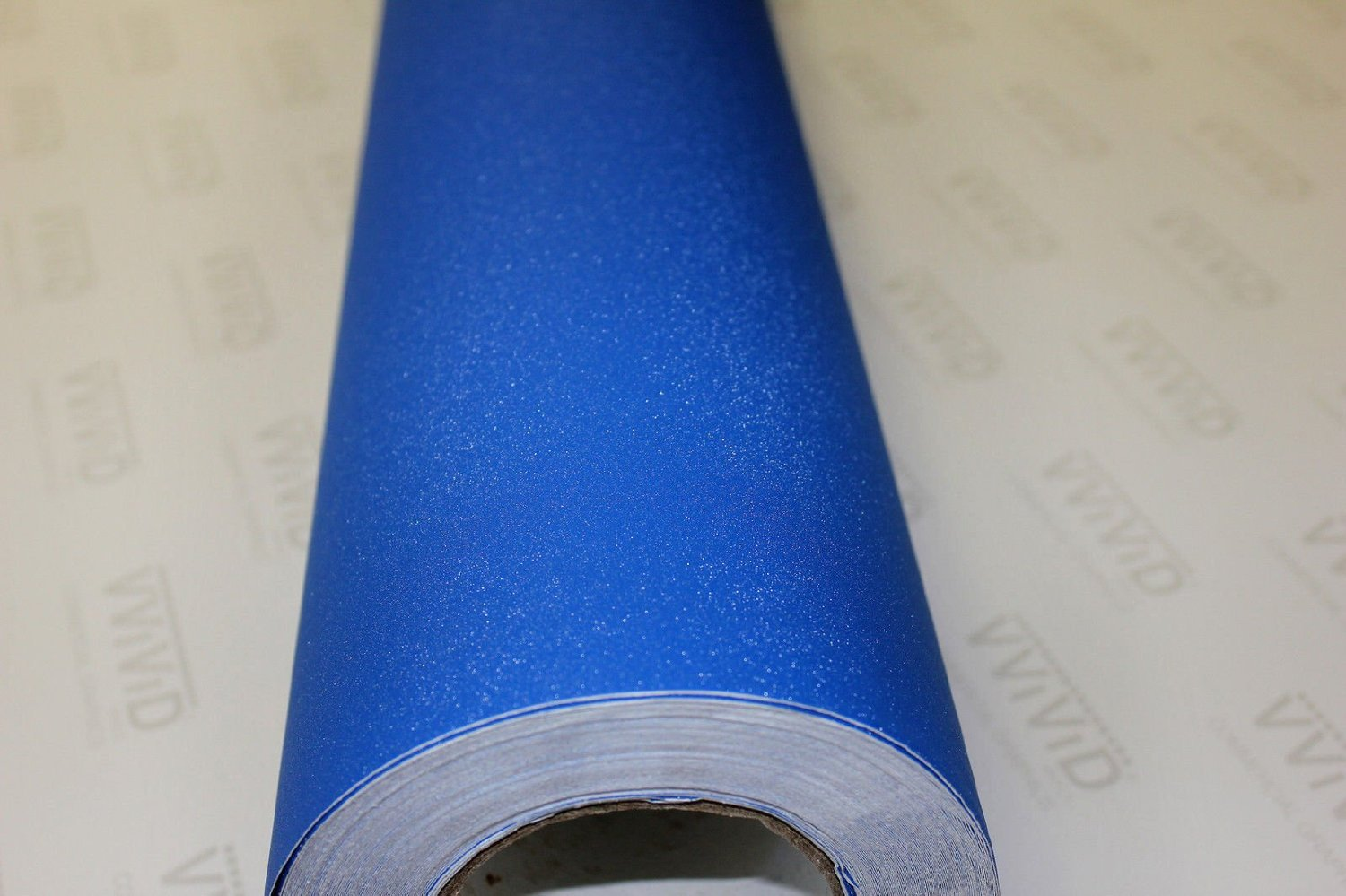 3ft x 5ft 4333200877 VViViD Blue Diamond Matte Vinyl Wrap Film Roll Decal Sheet DIY Easy to Use Air-Release Adhesive