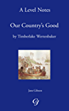 A-Level Notes on Timberlake Wertenbaker's Our Country's Good (English Edition)