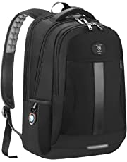 Laptop Backpack Business Travel Anti-Theft Work Computer Rucksack with USB Charging Port 15.6-inch Water Resistant Casual Daypack Large College High School Bag for Boys Men Women Black