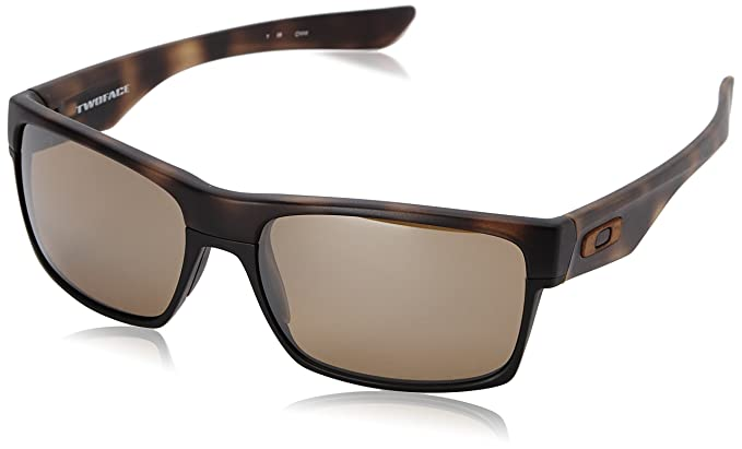 oakley brown sunglasses  Amazon.com: Oakley Men\u0027s Twoface OO9189-12 Polarized Iridium ...