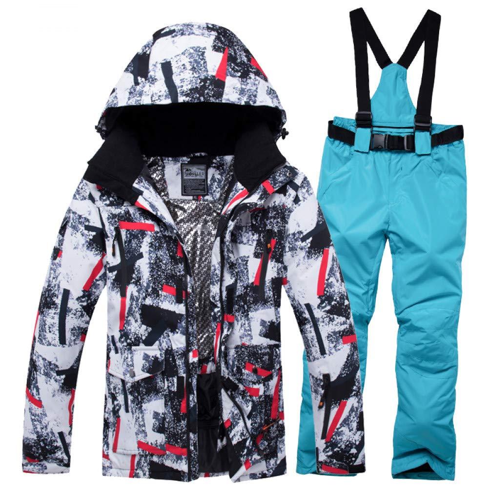 ZXGJHXF Abbigliamento Inverno Uomo Giacca da Sci Impermeabile Antivento Antivento Antivento Inverno Tuta da Sci Snowboard Caldo Abbigliamento da Neve Inverno Giacche da Sci Suit,Coloreee15,XLB07KZRZ6SHXL Coloreee20   eccellente    Materiali Accuratamente Selezionati    Reg 927ef6