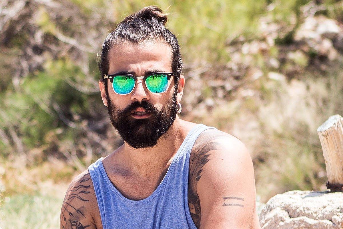 Cheapass Gafas de Sol Rectangulares Festival Espejados Retro Mujer Hombre Variaci/ón
