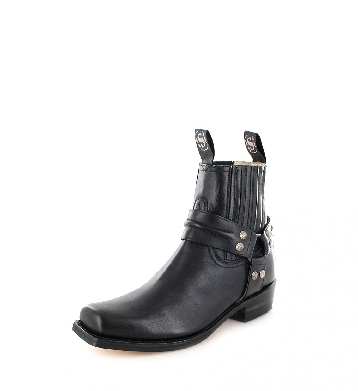 Sendra Boots2746 - botas estilo motero Unisex adulto40 EU|Negro - Negro