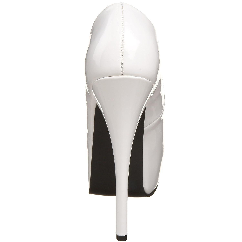 Bordello Damen Teeze-06 Pumps, Lack Weiß Weiß Lack 024eaa