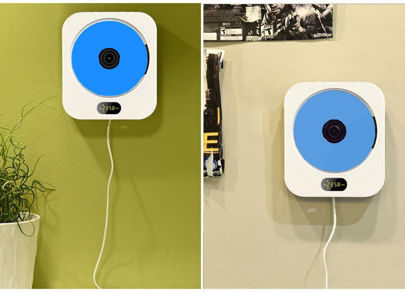 Amazon.com: Kimibaby Portable Wall Mounted Hanging HiFi CD Bluetooth ...