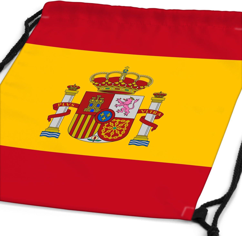style3 España languidecer Bandera del país Nacional Bolsa Mochila Bolsos Unisex gymsac: Amazon.es: Equipaje