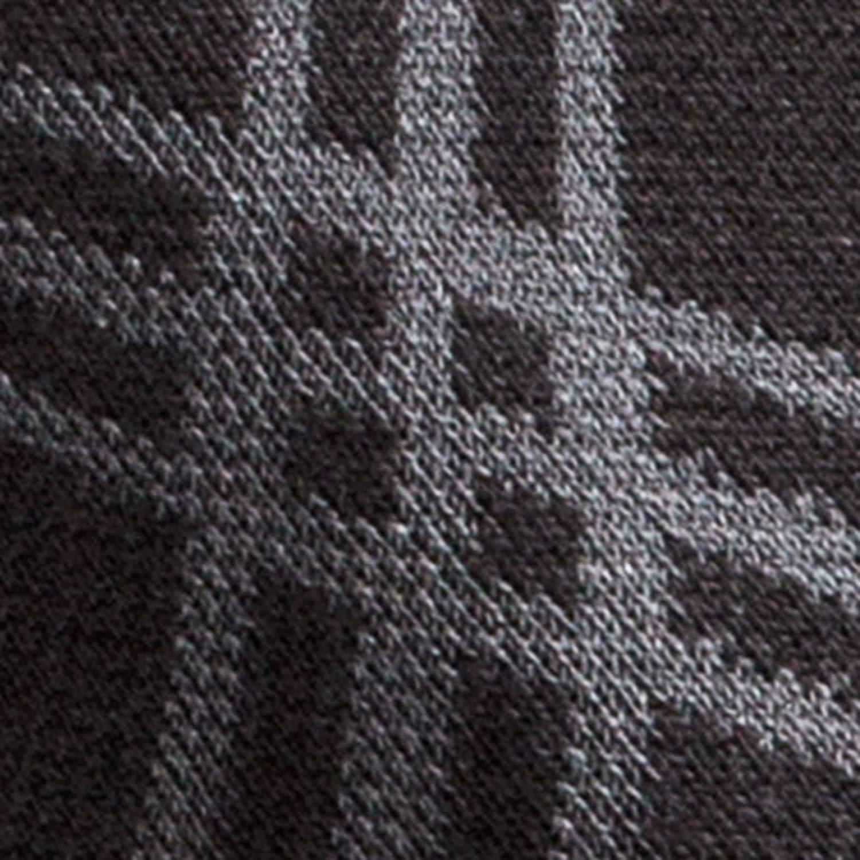 TOUCH Compression Socks for Men, 15-20 mmHg, Argyle, Cotton, 1 pair, Black, Large