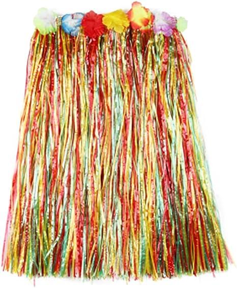 Fascigirl Falda de Hierba Falda Hawaiana de Moda DecoracióN de ...