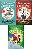 matt haig 3 books collection set - the girl who saved christmas,a boy called christmas,father christmas and me[hardcover]