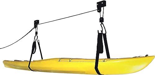 Kayak Hoist (Lift/Pulley System for Garage Storage) [RAD Sportz] Picture