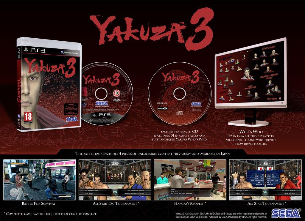 yakuza 3 for sale